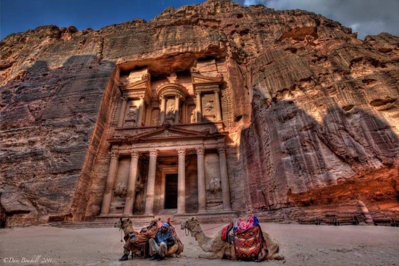 petra-jordan-camels-treasury