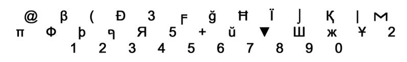 Leet-Alphabet