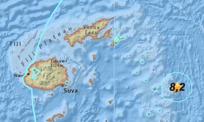 Seisme-Fidji