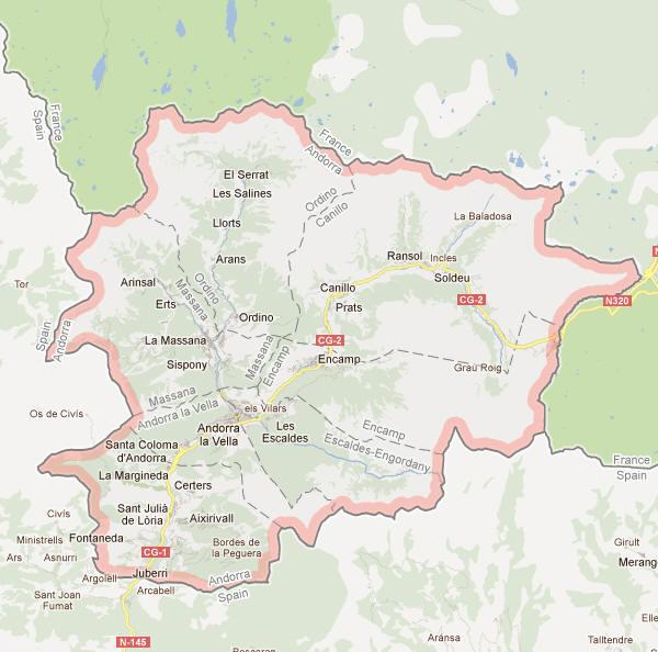 Andorra_Map