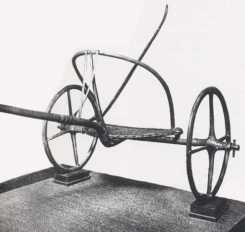 Char-egyptien-a-deux-roues